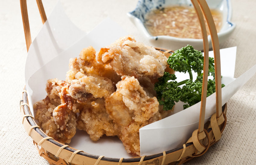いしり風味 鶏肉の竜田揚げ