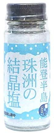 能登半島 珠洲の結晶塩(瓶)