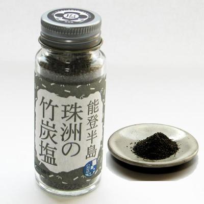 能登半島 珠洲の竹炭塩(瓶)